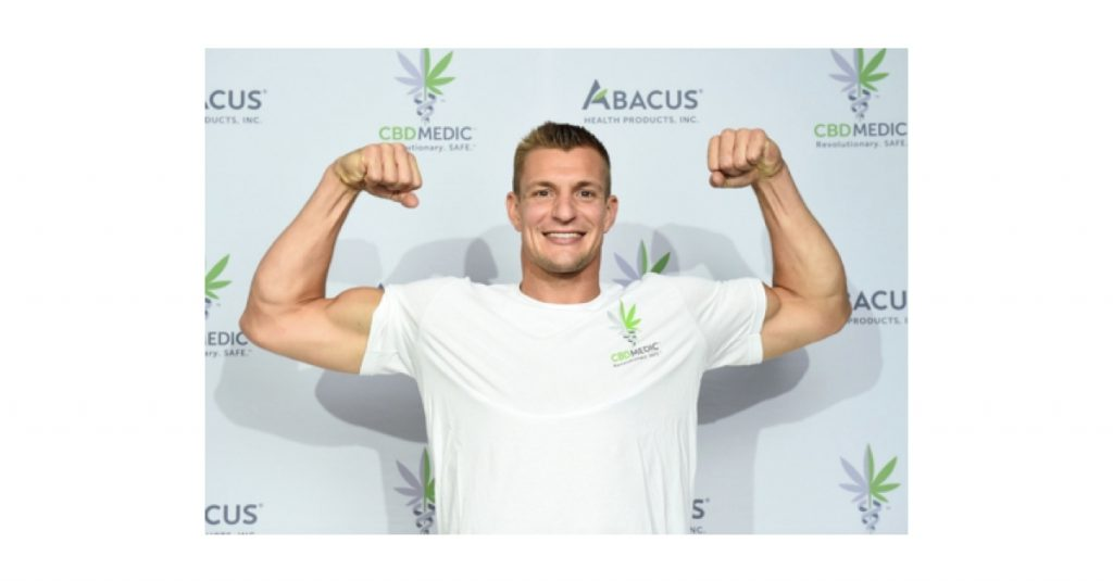 """Rob Gronkowski Is """"Back in The Game"""" with CBDMEDIC ™"""