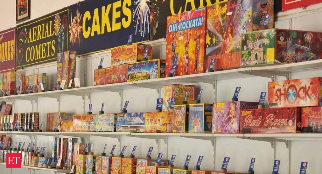 Workers, the axis of Sivakasi's fireworks market, toil and sweat to combat chances
